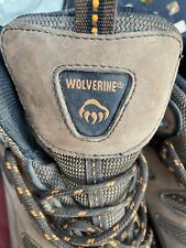 Mens winer Snow Boots Wolverine ,size 13, steel toe,lace up tread soles mint