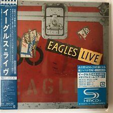 Eagles Live by Eagles (SHM-2CD.jp mini LP), 2011, WCPR-14084-5
