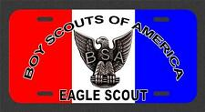Eagle / Boy Scouts Of America License Plate Tag Made In The USA metal new LSC001