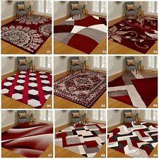GRANDE area Orientale Tappeto salotto camera da letto moderno corridoio Red Carpet Runners UK