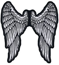 LARGER BEAUTIFUL ANGEL WINGS  IRONON PATCH  UBUY 2 WE SEND THREE