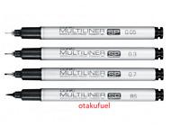 Copic Multiliner SP BLACK Color Individual liner pen type SELECT NIB SIZE