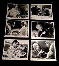 1966 QUEEN OF BLOOD FILM 6 PROMO 8X10 PHOTOS BASIL RATHBONE DENNIS HOPPER ZAPPA