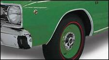 1967 1976 Dodge Dart Wheel Opening Mouldings Set Of 4 New