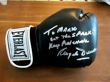 ANGELO DUNDEE BOXING HOF GREAT SIGNED AUTO VINTAGE 14 OUNCE EVERLAST GLOVE JSA