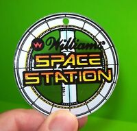 SPACE STATION Pinball Promo KEYCHAIN Original 1987 WILLIAMS NOS Plastic Arcade