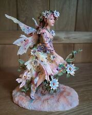 The Passion Flower Faerie Figurine By Christine Haworth Leonardo Collection
