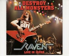 CD RAVENdestroy all monsters - live in japanEX 1995 GERMAN  (B3935)