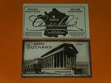 CHROMO PHOTO CHOCOLAT SUCHARD 1928 FRANCE NIMES MAISON CARREE GARD 30