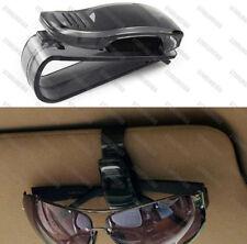 Black Sun Visor Sunglasses Eye Glasses Card Holder Clip Interior for Subaru