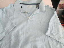 Men's Casual Polo Shirt size Large short sleeve 3 button down