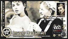 Ingrid Bergman (5012) 2015 Legends of Hollywood (FDC) #P007 Gaslight
