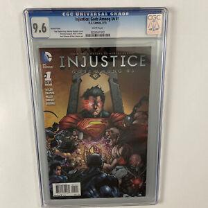 Injustice: Gods Among Us #1 2013 CGC Rare Raapack 1:25 Variant