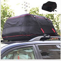 Car SUV Offroad Rooftop Waterproof Roof  Carrier Cargo Bag Rack Storage Luggage