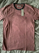 ** FCUK French Connection ** Ringer Style T-Shirt - Size XXL (New/TAGGED)