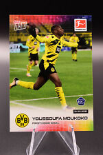2021 Topps Now Youssoufa Moukoko UEFA Champions league RC / Rookie
