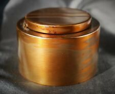 Art Deco Bronze Modernist Inkwell by Silvercrest (Smith Metal Arts Co.) c.1925