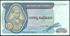 TWN - ZAIRE 22b - 5 Zaïres 27/10/1980 UNC BA-E