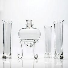 Ceremonia de la Arena en Forma De Corazón Florero de vidrio de 6 piezas conjunto