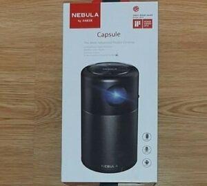 NEBULA Anker Capsule Smart Wi-Fi Mini Projector Black 100 ANSI Lumen