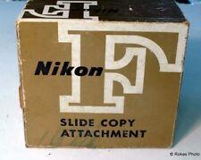 Nikon Copy Attachment F slide adapter boxed mint