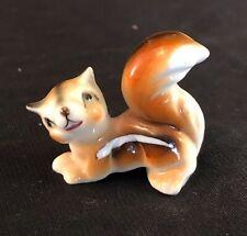 Miniature Porcelain Animal Horse Chestnut Pair #HOR905 Closeout