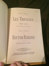 Hector Berlioz Les Troyens à Carthage opéra partition chant-piano Choudens