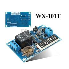 12V Relay Multifunction Cycle Delay Timer Module Switch Real Clock Control Time