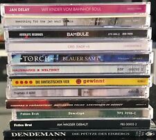 CD Sammlung - 12 CDs, dt. HipHop Rap, u.a. Jan Delay, Fettes Brot, Fanta4, Cro