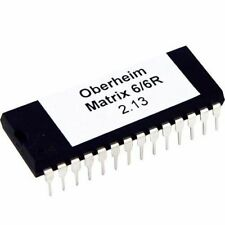Oberheim Matrix 6 And 6r firmware V2.13 Latest OS
