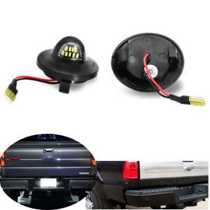 2x For Ford F-150 F-250 F-350 Ranger Explorer LED Number License Plate Light