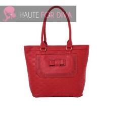 Bolsos de mujer grande de piel color principal rojo