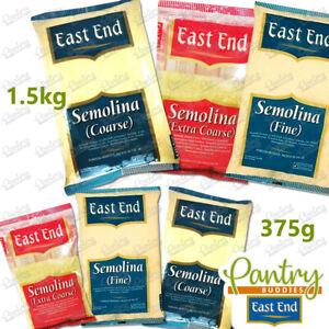 East End Semolina - Fine / Coarse / Extra Coarse - 375g / 1.5kg
