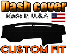 fits 2010 - 2018  TOYOTA  4RUNNER  DASH COVER MAT DASHBOARD PAD /  BLACK