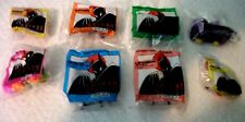 "VINTAGE !! McDonalds 1993  ""Batman"", animated series toys (MIP) 8 pieces RARE"