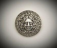 Versace Medusa Head Silver Pendant