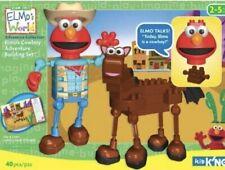 Brand New Elmo'S World Talking Cowboy Adventure K'Nex Building Set Rare