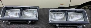 1982 Rolls Royce Silver Spur us spec headlights Left and Right