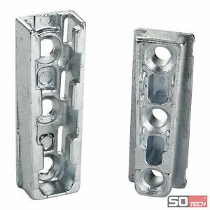 SO-TECH® Möbelverbinder SOLID Bettverbinder Korpusverbinder Einhängeverbinder