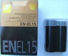NEW BATTERY FOR NIKON EN-EL15  EL15A D7100 D800E D610 V1 WITH TRACKING NUMBER
