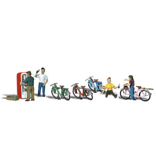 More details for woodland scenics a2194 n gauge bicycle buddies