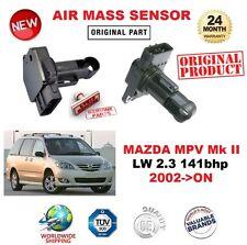 FOR MAZDA MPV Mk II LW 2.3 141bhp 2002-ON AIR MASS SENSOR 5 PIN without HOUSING
