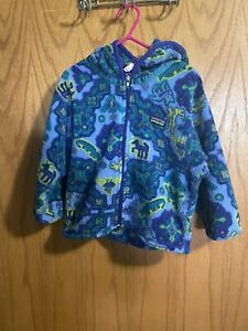 Patagonia Toddler 3T Fleece Zip Jacket Preowned Condition