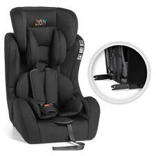Baby Vivo Kindersitz 9-36 kg mit ISOFIX Autokindersitz Schwarz Grau Gruppe 1+2+3