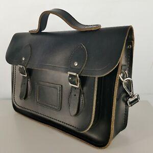 The Cambridge Satchel Company 13 Inch Black Leather Satchel