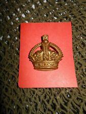 U.K. insigne de grade d'épaule, métal dorée