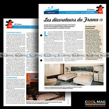 #clf071.007 ★ LES DECORATEURS DU PAQUEBOT FRANCE -3- ★ Fiche Marine
