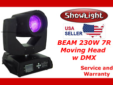 ShowLight BEAM 230W 7R Moving Head Light (3D, Rainbow) (alt Clay Paky Sharpy)