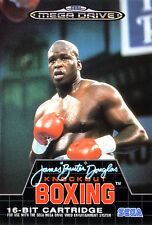 ## SEGA Mega Drive - James ´Buster´ Douglas Knock Out Boxing - TOP / MD Spiel ##