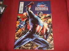 CAPTAIN AMERICA : REBORN #1 Ed Brubaker  Marvel Comics 2009 NM